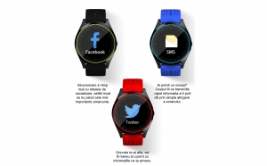 Ceas smartwatch V9 Bluetooth