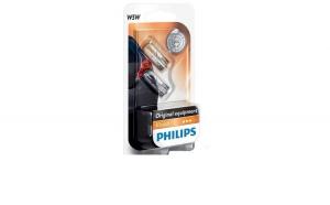 Set 2 Becuri auto Philips T10 Vision,