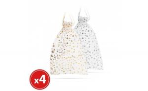 Sacoşa, pt. cadouri - textil organza -