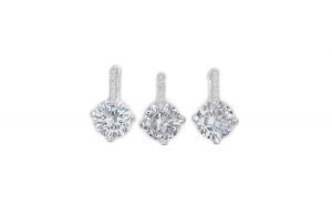 Set argint 925 Pure Crystals