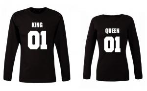 Set de bluze negre KING 01 COD ST527