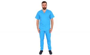 Costum medical turquoise unisex