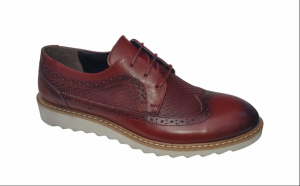 Pantofi barbati, din piele naturala, culoare bleumarin sau bordo