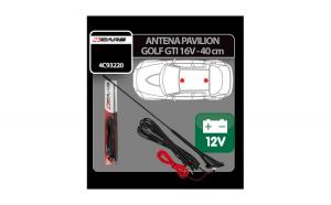 Antena pavilion cu amplificator semnal