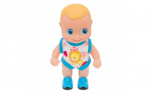 Papusa Baby Doll Baby Walker cu miscare si sunete- baiat