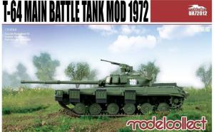 1:72 T-64 Main Battle Tank Mod 1972 1:72