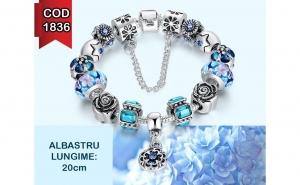 Bratara Charm Blue