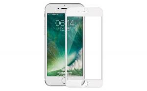 Folie Sticla Apple iPhone 7 Plus Flippy 4D/5D Alb
