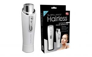 Aparat epilat facial Hairless By NuBriliance