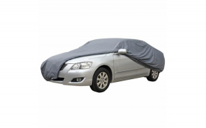 Prelata Auto Impermeabila Dacia Logan - RoGroup, gri