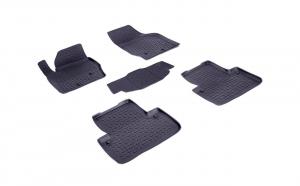 Covoare/Covorase/Presuri cauciuc stil tip tavita Volvo XC90  2004-->2014 (5 bucati) (83789) - SEINTEX