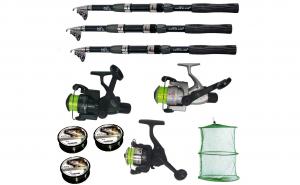 Set pescuit sportiv cu lanseta Wind Blad