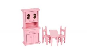 Mobilier de bucatarie roz, AC 1014