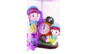 Veioza kids cu ceas, 40 cm, 102D