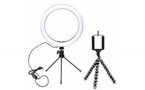 Set Lampa circulara LED Ring Light