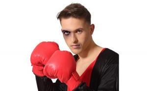 Manusi de box Rosu