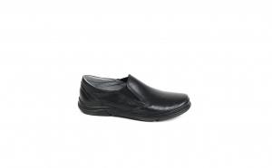 Pantofi casual barbati piele naturala,SWBSA, 1413,NEGRU