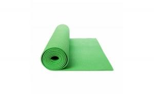 Saltea Yoga cu design Roll-up si suprafata anti-alunecare Grunberg, verde + Set cutite 3 piese cadou