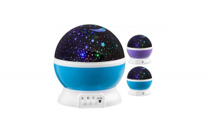 2 Proiectoare Star Master - Glob/Lampa