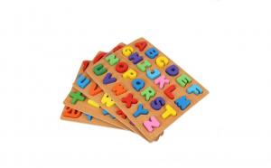 Puzzle 3D Educational din lemn diverse sortimente