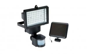 Proiector led cu 60 LED-uri, senzor de miscare si alimentare solara