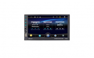 Mp5 Player de masina 7 inch Full Hd cu telecomanda si amplificator incorporat 4x60W 7702CM