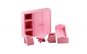 Mobilier dormitor roz, AC 1015