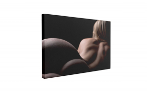 Tablou Canvas Femeie Blonda Nud, 50 x 70 cm, 100% Bumbac