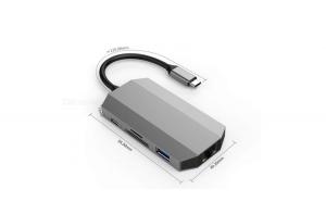 Hub Type C 9 in 1 Universal iesire HDMI,