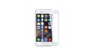 Folie Sticla Apple iPhone 6/6S Flippy Full Face Alb
