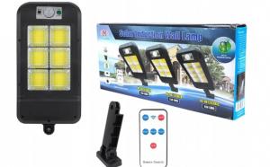Lampa solara exterior 150 LED COB