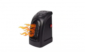 Mini Aeroterma Electrica pentru Camera sau Birou, Afisaj LED cu Control Temperatura, Element de Incalzire Ceramic, Putere 400W