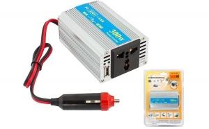 Convertor Transformator de Tensiune de la DC 12V la AC 220V + USB 5V APT-PT1