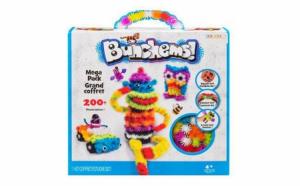 Set creativ de joaca si construit tip Bunchems, 200 piese