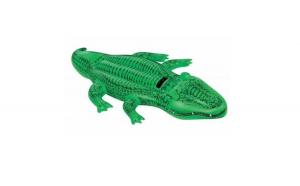 Saltea gonflabila, forma Crocodil