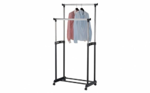 Suport dublu pentru haine capacitate de 30 kg, material rezistent