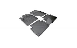 Covoare / Covorase / Presuri cauciuc stil tip tavita AUDI Q7 I 200-2015 - NPL-Po-05-77 (Norplast)