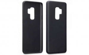 Husa Silicon Matte Samsung Galaxy S9 Plus Negru
