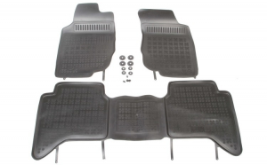 Set covorase cauciuc stil tavita Toyota Hilux VII 10.05- Rezaw