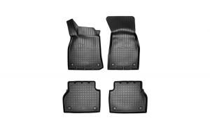 Covoare / Covorase / Presuri cauciuc stil tip tavita AUDI A6 C8 2018-prezent - NPA10-C05-410 (Norplast)