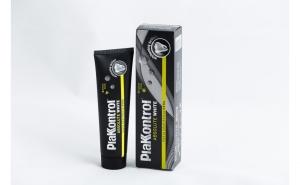 Pasta de dinti PlakKontrol, albire naturala, Carbune activ, 75ml