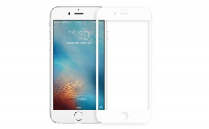 Folie Sticla Apple iPhone 7 Flippy Full Face Alb