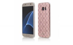 Husa Vetter Samsung Galaxy S7 Soft Pro 3D Series Roz-Auriu