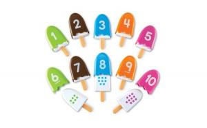 Inghetata cu cifre   Numberpops   Set educativ