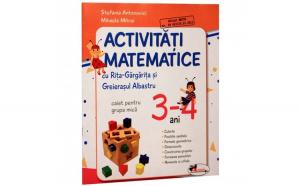 Activitati matematice cu Rita Gargarita