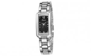 Ceas dama Kimio TG027 argintiu negru