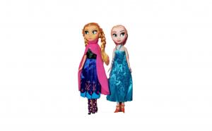 Set papusi Anna si Elsa - Frozen