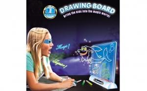 Tabla pentru desenat 3D Draw and Glow, Mos Nicolae