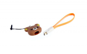 Cablu de date cu figurina, Portocaliu