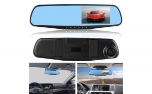 "Camera Video Auto Dubla Tip Oglinda Full-HD 1080p Display 4.3"", Mod Parcare, G Senzor, Detectie Miscare, Unghi larg filmare Reflection Vision®"